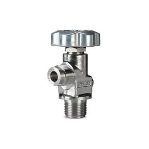 "Sherwood Valve, CGA 330 outlet, 3/4"" NGT inlet, Stainless Steel Diaphragm Packless, 3775 PSI Pressure Relief Device, 165 deg F"