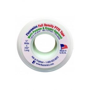 "Fluoramics Full Density PTFE Tape, 1/2' X 260"", SKU: 9010005"